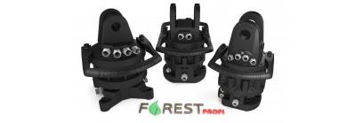 Rotatoare hidraulice cu flansa Forest PROFI