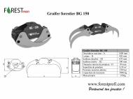 Graifer forestier pentru biomasa BG 150