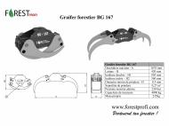 Graifer forestier resturi vegetale BG 167