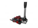 Distribuitor hidraulic monobloc dublu efect 2 sectiuni 40 l/min