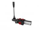 Distribuitor hidraulic monobloc dublu efect cu flotant 1 sectiune 40 l/min
