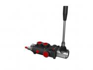 Distribuitor hidraulic monobloc dublu efect 1 sectiune 80 l/min