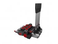 Distribuitor hidraulic monobloc dublu efect 3 sectiuni 40 l/min