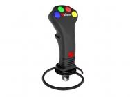 Joystick 4 comenzi electrice pentru distribuitor hidraulic
