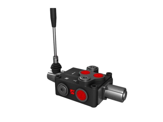 Distribuitor hidraulic monobloc dublu efect 1 sectiune 120 l/min