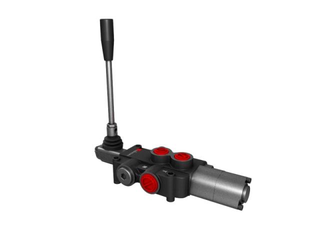 Distribuitor hidraulic monobloc dublu efect cu flotant 1 sectiune 80 l/min