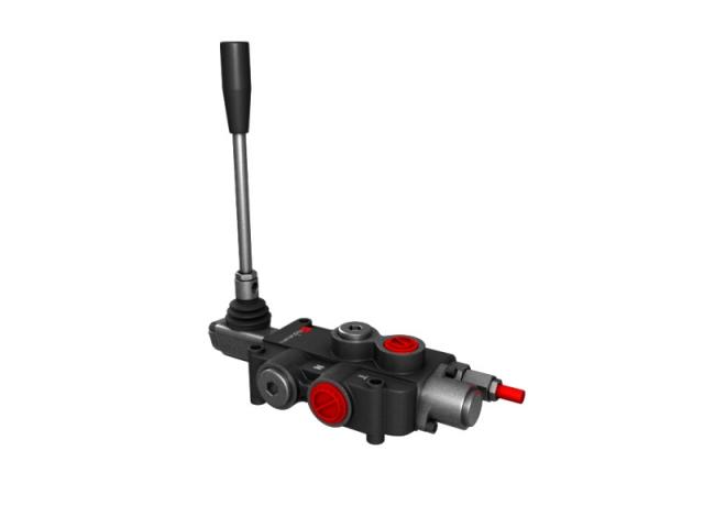 Distribuitor hidraulic monobloc simplu efect 1 sectiune 80 l/min