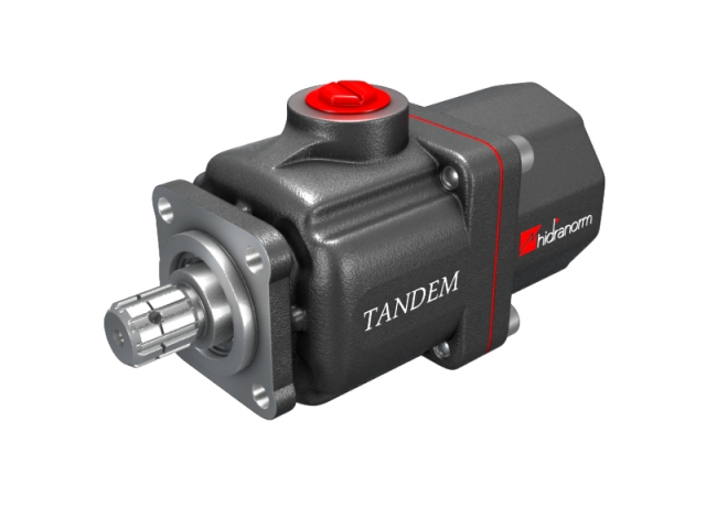 Pompa hidraulica cu pistoane 35+35 l/min seria TANDEM