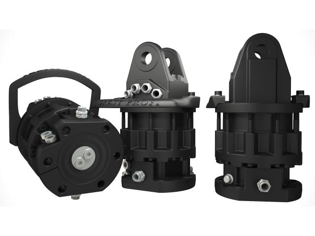 Rotator hidraulic CR 1000 FW graifer bustean