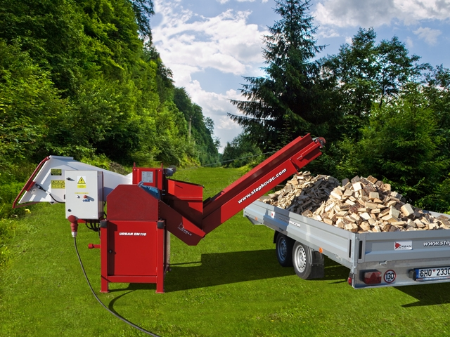 Tocator crengi deseuri lemn si resturi vegetale Urban EM110-S2.1
