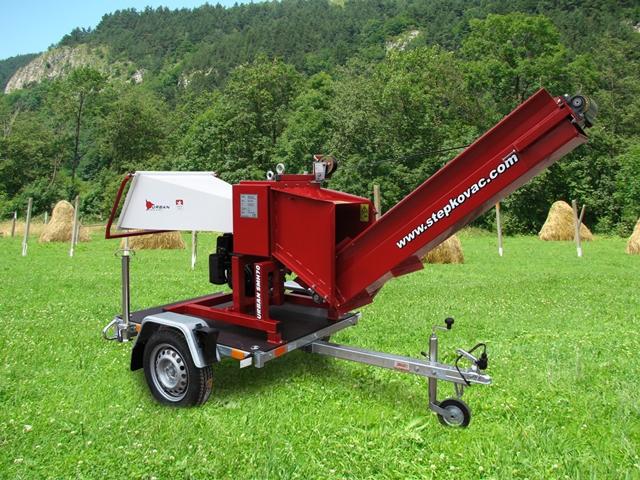 Tocator crengi deseuri lemn si resturi vegetale Urban SMH70-S1.7